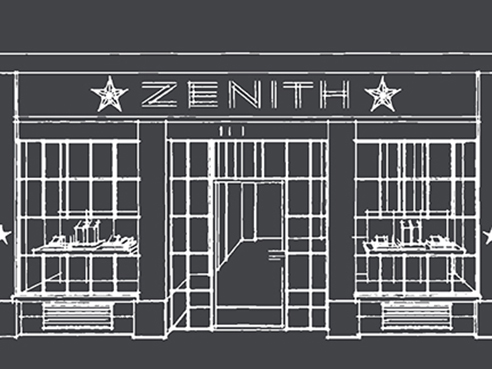 ZENITH BOUTIQUE LE BON MARCHE (PARIS)