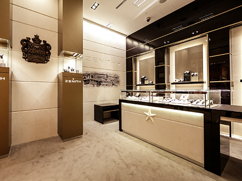 ZENITH BOUTIQUE MERCURY TSUM (MOSCOW) picture 1