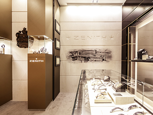 ZENITH BOUTIQUE MERCURY TSUM (MOSCOW) picture 2